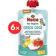 HOLLE Croco Coco  BIO jablko mango kokos 6× 100 g - Příkrm