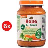 HOLLE BIO Zeleninová směs 6× 190 g - Příkrm