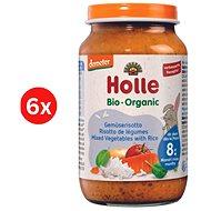 HOLLE BIO Zeleninové rizoto 6× 220 g - Příkrm
