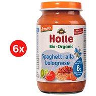 HOLLE BIO Spaghetti Bolognese 6× 220 g - Příkrm
