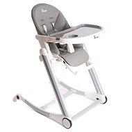 Bo Jungle B-High Chair šedá - Jídelní židlička