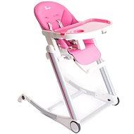 Bo Jungle B-High Chair růžová - Jídelní židlička