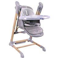 Bo Jungle B-Swinging Chair Wood - Jídelní židlička