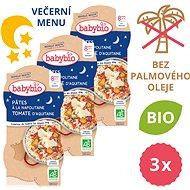 BABYBIO Neapolské těstoviny 3× (2× 200 g)  - Příkrm