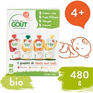 Good Gout BIO variation of pockets My first fruit 120 g - Cookies for Kids