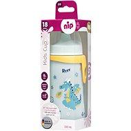 Nip Kids cup s pítkem 330 ml kluk - Láhev na pití pro děti