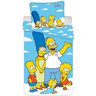 """Jerry Fabrics ložní povlečení - The Simpsons family """"Clouds 02"""" - Dětské povlečení"""