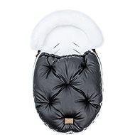 Floo for Baby  Alaska shine black/white - Fusak do kočárku