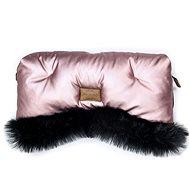 Floo for Baby Rukávník Alaska shine pink/black - Rukávník