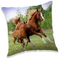 Jerry Fabrics  Polštář Horse brown - Polštář