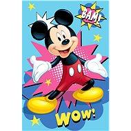 """Jerry Fabrics  Dětská deka Mickey """"BAM"""" - Deka"""