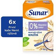 Sunar První kaše rýžová 6× 220 g