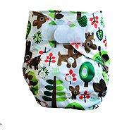 GaGa's Novorozenecké svrchní kalhotky Lesní  - Plenkové kalhotky