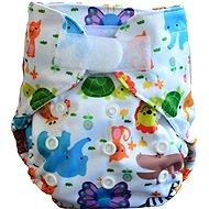 GaGa's Novorozenecké svrchní kalhotky Zoo  - Plenkové kalhotky