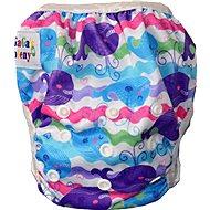 GaGa's Plenkové plavky Barevné velryby - Plenkové plavky