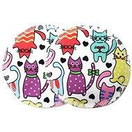 BREBERKY Bra Pads - Cats (PUL) - Breast Pads