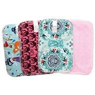 BREBERKY KLASIK (12× 18cm) - Girls' Cotton Knit and Baby Plush (Velour) 1 Pc - Napkins