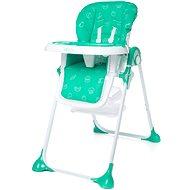 4BABY Decco turkus - Jídelní židlička