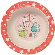 ZOPA Bambusová miska s přísavkou Rabbits - Dětská miska