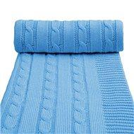 T-tomi Pletená deka blue