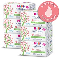 Dětské vlhčené ubrousky HiPP Babysanft Natural 6× (2× 60 ks)