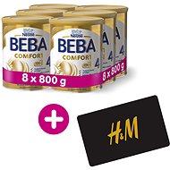 BEBA COMFORT 4 HM-O (8× 800 g) + H&M Poukaz v hodnotě 300 Kč