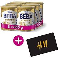 BEBA COMFORT 2 HM-O (8× 800 g) + H&M Poukaz v hodnotě 300 Kč