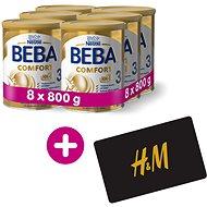 BEBA COMFORT 3 HM-O (8× 800 g) + H&M Poukaz v hodnotě 300 Kč