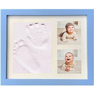 GOLD BABY Classic imprint frame - blue - Print Set