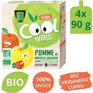 VITABIO Ovocné BIO kapsičky Cool Fruits jablko a acerola 4× 90 g - Příkrm