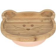 Lässig  Platter Bamboo Wood Chums Mouse - Talíř