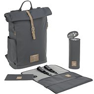Funny Green Label Rolltop Backpack anthracite