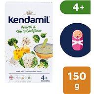 Kendamil Jemná bezlepková kaše s brokolicí, květákem a sýrem 150 g - Mléčná kaše