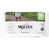 MOLTEX EKO Pure&Nature na bázi vody (60 ks) - Dětské vlhčené ubrousky