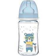 Canpol babies BONJOUR PARIS 240 ml modrá - Kojenecká láhev
