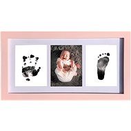 GOLD BABY Three - frame for inkjet print - pink