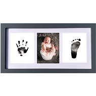 GOLD BABY Three-frame for ink print - dark blue