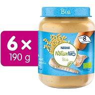 NESTLÉ NaturNes BIO Těstoviny s krutím masem a zeleninou 6× 190 g