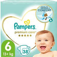 PAMPERS Premium Care size 6 (38 pcs) - Baby Nappies