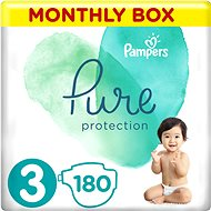 PAMPERS Pure Protection vel. 3 (180 ks)