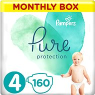 PAMPERS Pure Protection vel. 4 (160 ks)