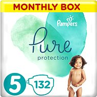 PAMPERS Pure Protection vel. 5 (132 ks)
