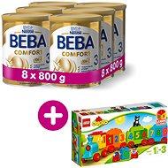 BEBA COMFORT 3 HM-O (8× 800 g) + Lego Duplo Vláček s čísly - Kojenecké mléko