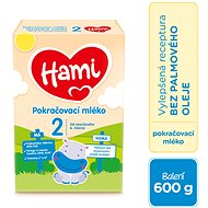 Hami Pokračovací kojenecké mléko 6m+  600 g - Kojenecké mléko
