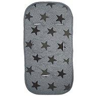 Dooky Multicomforter Grey Stars - Podložka do kočárku