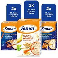 Sunar Mix mléčná kaše 6× 225 g - Mléčná kaše
