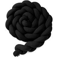 Eseco Pletený mantinel 180 cm, black