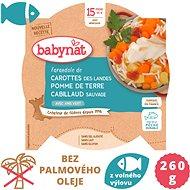 BABYNAT Mrkev a brambory s treskou 260 g