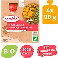 BABYBIO Kiwi mango kokos 4× 90 g