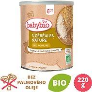 BABYBIO Nemléčná vícezrnná obilná kaše 220 g - Nemléčná kaše